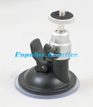 Free Shipping Mini Car Universal DVR Camera Mount Holder Car Driving Recorder Mount 360 degree to Fix the Device Suction Cup