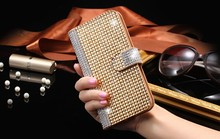 Buy Dower Super Luxury Bling Diamond Flip Leather Mobile Phone Case iPhone 7 6 6S Plus Wallet Cover Apple Card Slot for $8.99 in AliExpress store