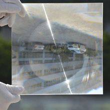 Buy 2PCS 260x260mm Square PMMA Plastic Solar Condensing Fresnel Lens Focal Length 370mm Plane Magnifier,Solar Energy Concentrator for $39.98 in AliExpress store