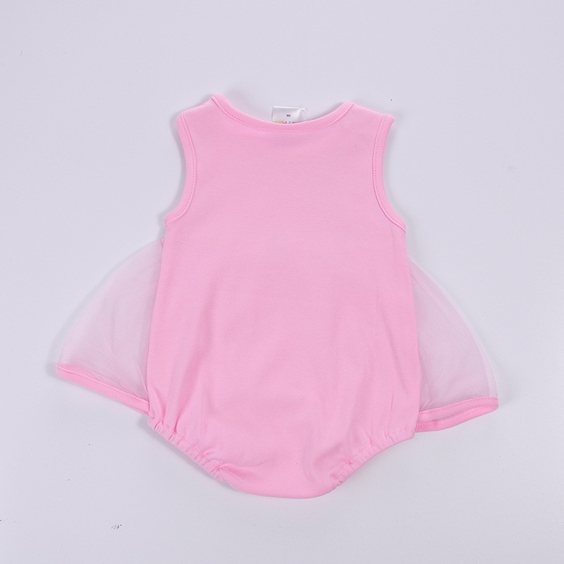 Newborn Baby Girls Clothes summer sweet princess Jumpsuit Baby Romper cotton baby clothes