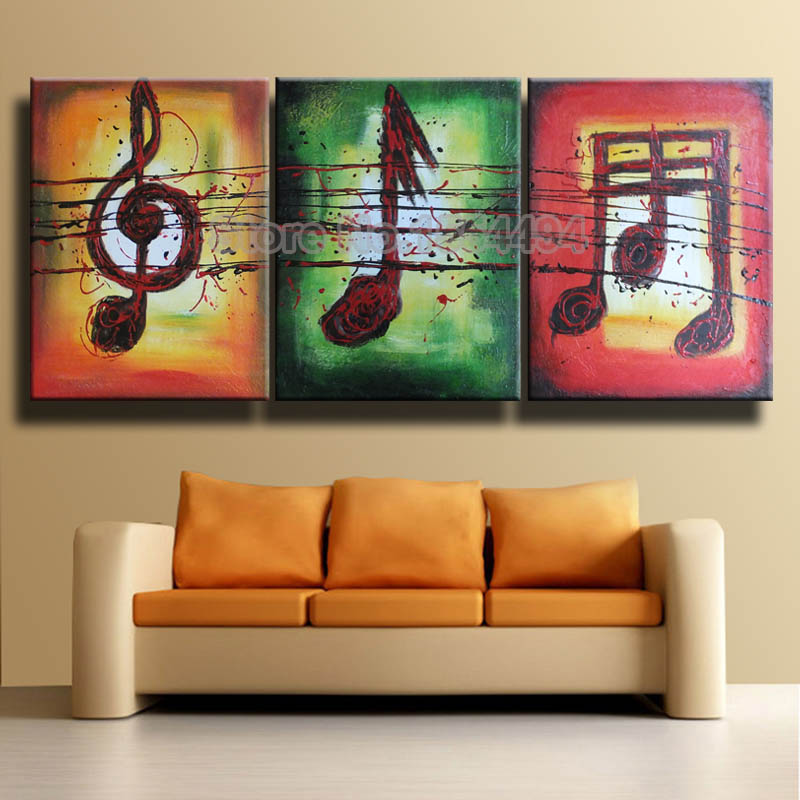 w wholesale music note paintings