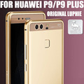 Case For HUAWEI P9 P9 PLUS Luxury Original Luphie Sword Aluminum Metal Frame Leather Back Sticker