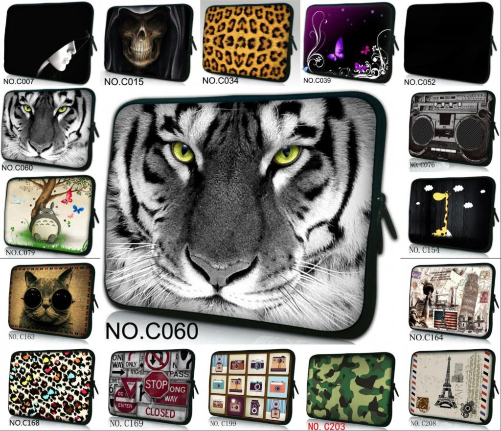 New 2016 multi size/pictures computer accessories 10 12/13/14/15/17 inch laptop notebook bag sleeve case for macbook pro/air(China (Mainland))
