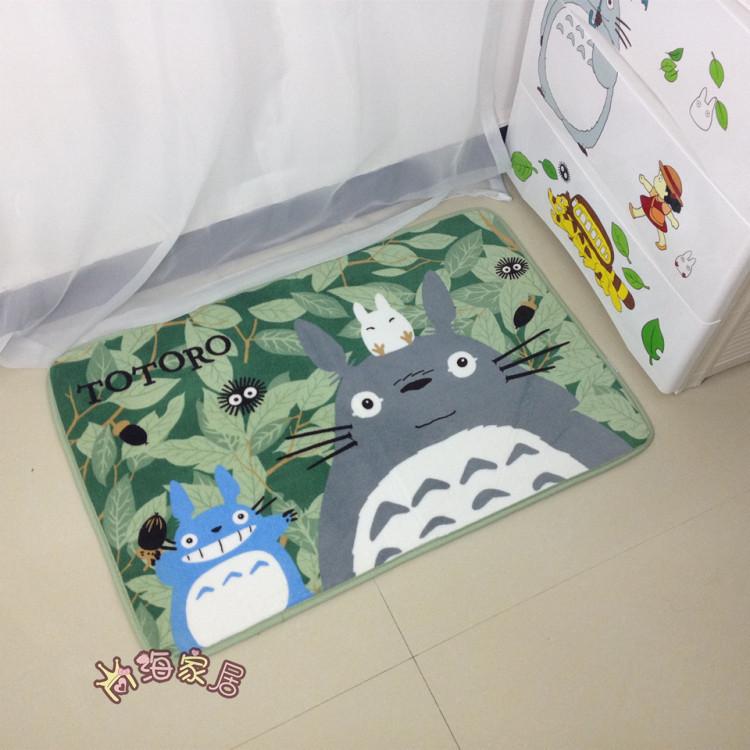 Household kitchen carpet table chair mat hallway corridor rugs bathroom foot pad cartoon mat free shipping(China (Mainland))