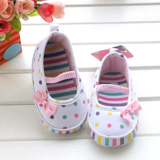 Горяч-продавая весна осень белый принцесса обувь детская обувь впервые ходунки малыша ...