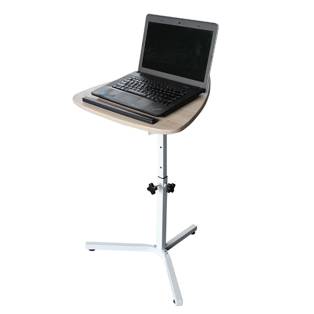 Adjustable Height Laptop Desk Flash Furniture Nan Lt 04