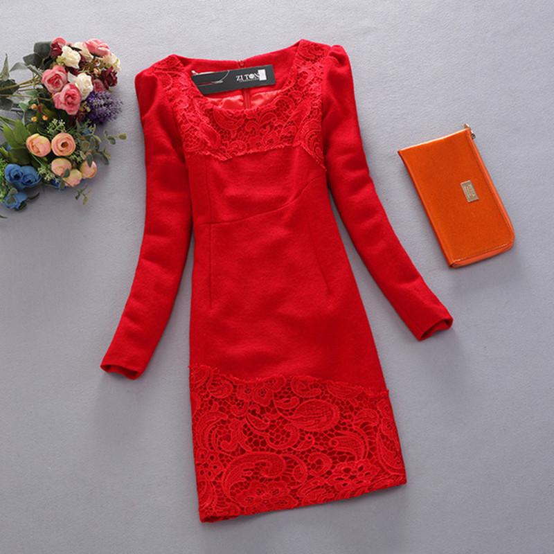 модный гардероб платье элегантное кружево недорогие платья