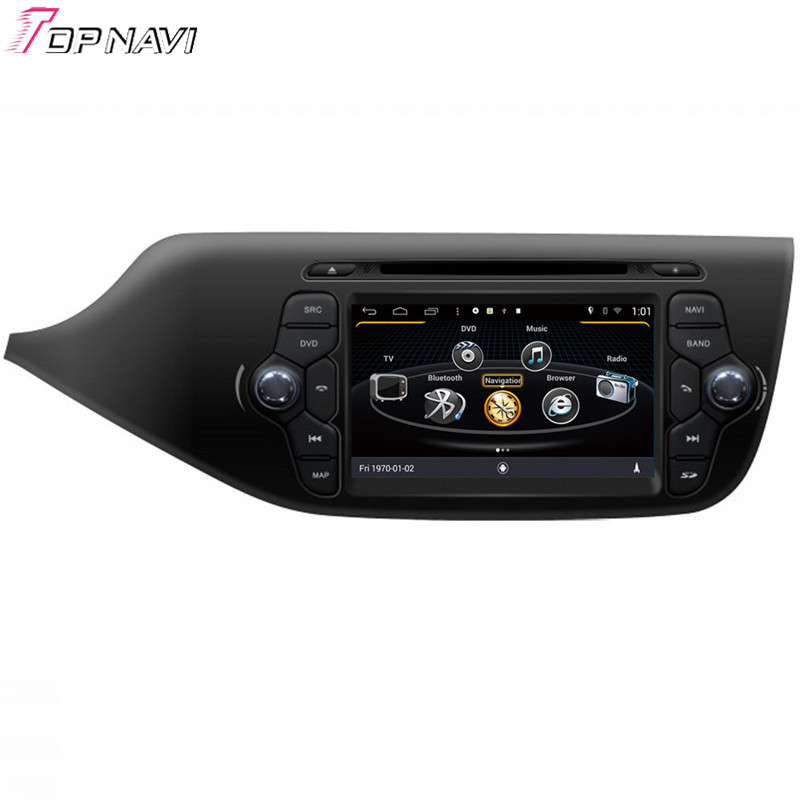 Top Newest Free Shipping Quad Core S160 Android 4.4 Car DVD GPS For 2013 Ceed With 16GB Flash Wifi Bluetooth Mirror Link