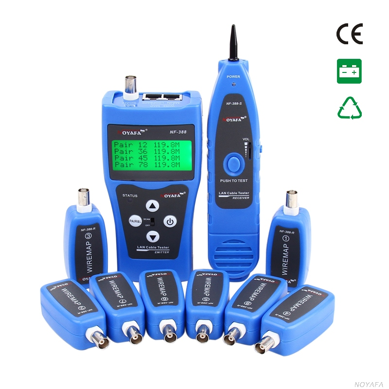 Original Blue Noyafa NF-388 for UTP STP RJ45 RJ11 Telephone Wire Tracker Diagnose Tone Tool Kit LAN Network Cable Tester(China (Mainland))