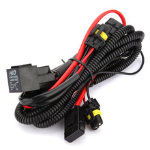 Buy 9006 H1 H3 H7 H8 H9 H11 Vehicle Xenon Conversion Kit Relay Wiring Harness for $6.98 in AliExpress store
