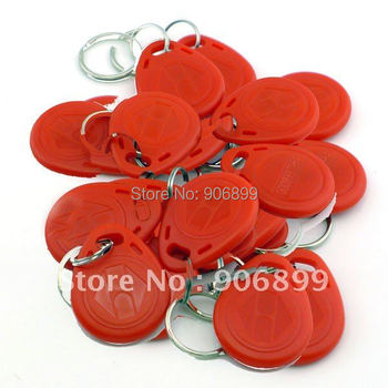 2014 Sale Tag Nfc Rfid Card 100pcs 125khz Rfid Proximity Id Card Token Tags Key Keyfobs Access Control Use Blue Red And Yellow