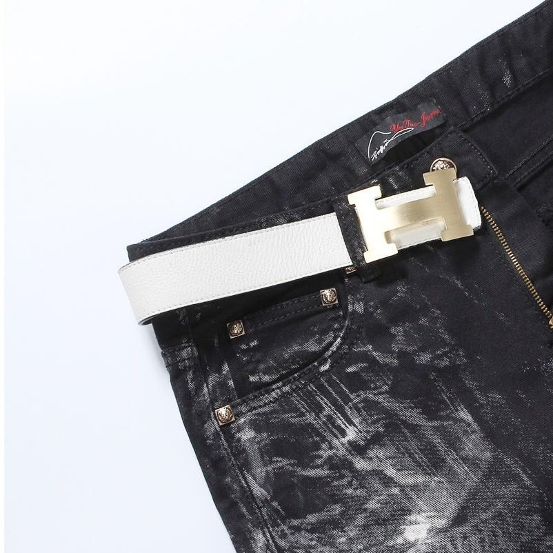 Скидки на Горячая Новая Осень Лето 2015 Мужчины Окрашенные джинсы Мужчины Камуфляжные Штаны Тонкий брюки Бесплатная доставка