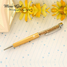 1pcs/lot Factory direct sale High Quality Good Gift Crystal Pen Promotion Diamond Ballpoint pen(China (Mainland))
