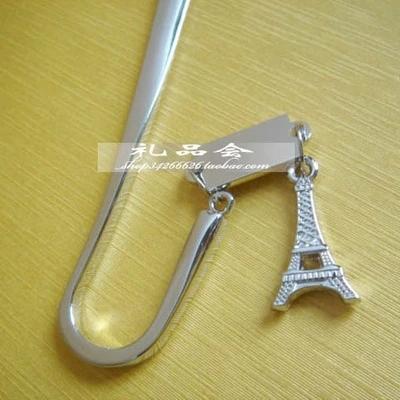 Гаджет  Eiffel Tower metal bookmark high quality book markers free shipping None Офисные и Школьные принадлежности