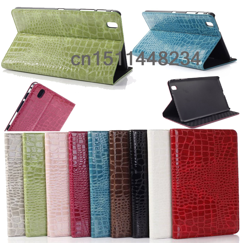 3in1+ luxury Fashion crocodile leather Smart Stand cover case for samsung galaxy Tab pro SM-T320 T321 T325 8.4inch Tablet cases<br><br>Aliexpress