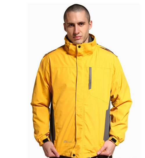 mens waterproof windproof anti-soil oil-proof thinsulate Camping  Hiking two-piece outdoor Jackets windbreaker B-CMN-10611<br>