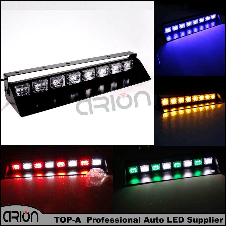 led 72w police strobe lights car dash windshields lamp emergency light. Black Bedroom Furniture Sets. Home Design Ideas