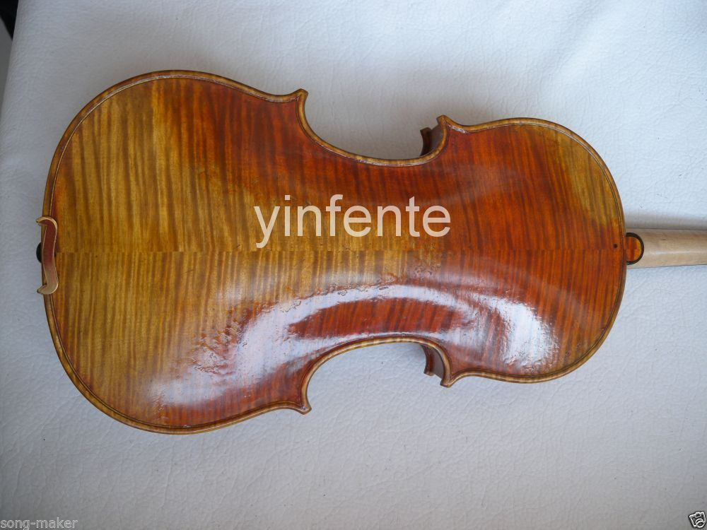 Free shipping Old 4/4 Violin best ebony parts , Russian SPruce Pro+<br>