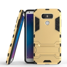 Buy Case LG G6 Case Shockproof Hard LG G6 Hybrid Silicone+TPU Back Cover LG G6 Phone Cover LG G6 Case Kickstand for $6.99 in AliExpress store