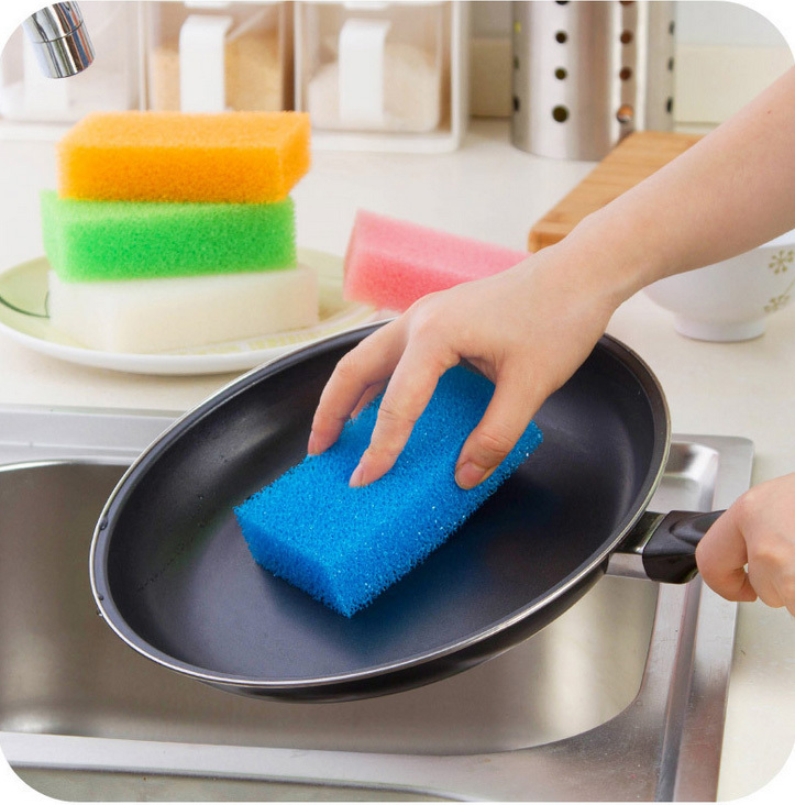 2016 Real Esponja Magic Sponge Magic Strong Decontamination Kitchen Dish Cleaning Luffa Sponge Home Accessories Melamine Cleaner(China (Mainland))