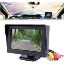 "2016 High quality 4.3"" Foldable Color LCD Monitor Car Reverse Rearview 4.3"" Parking System LCD Monitor for Car Rear view Camera (China (Mainland))"
