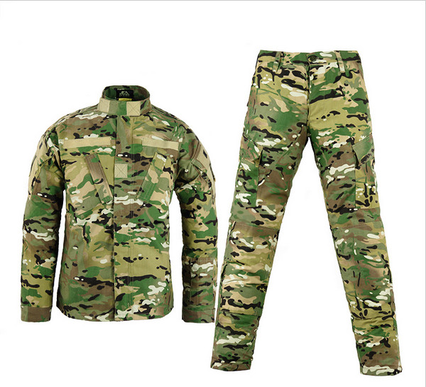 Army military tactical cargo pants uniform waterproof camouflage bdu combat us army men clothing set - PILOT(pilotairsoft com store)