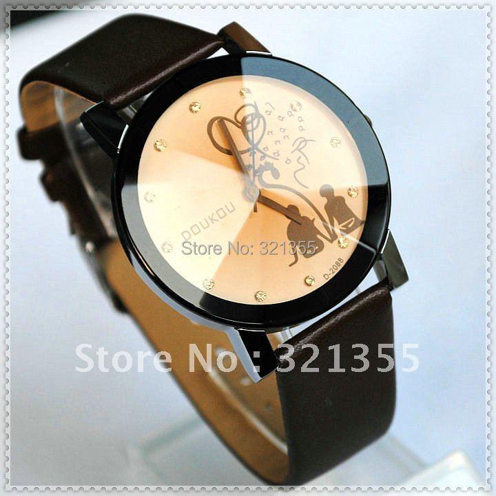 (s) Original Brand Fashion Lover's Watch Women girls Ladies PU Leather band Dress Quartz Watches Relogio Feminino(China (Mainland))