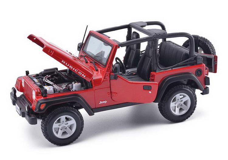 Maisto 1:18 JEEP Maisto Jeep Wrangler Rubicon Convertible Alloy Car Models Simulation Car Diecast Models Collection Metal Cars(China (Mainland))