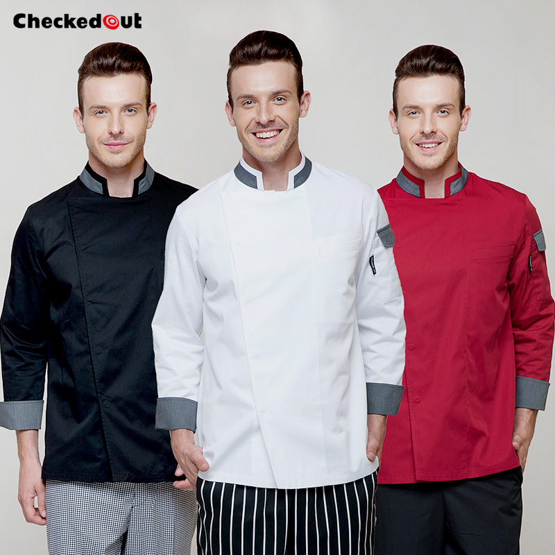 The New Chef Clothing Autumn And Winter Restaurant Chef