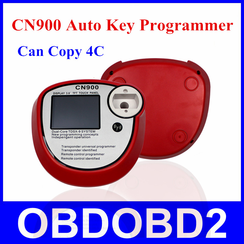 Latest Version CN900 Car Key Programmer OEM CN 900 Atuo Key Pro For 4C Chip Support English With 3 Years Warranty(China (Mainland))