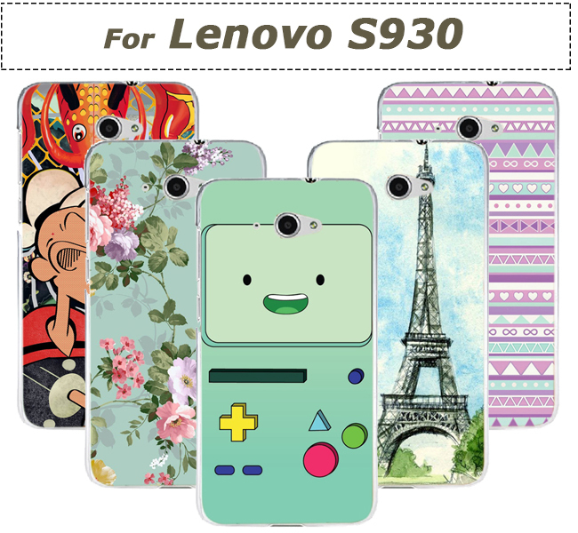 22 patterns Fashion Tower flying house Cover For Lenovo S930 Case For Lenovo S930 Case Cover(China (Mainland))