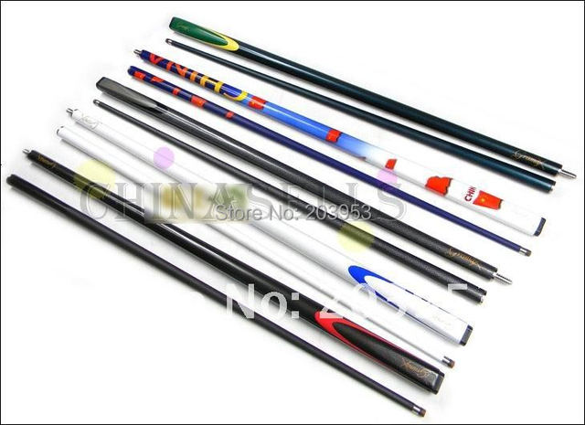 free ship new carbon 1/2 snooker billiard cue stick cue center joint cue stainless joint 9mm tip in stock