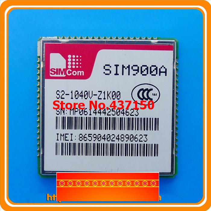 1PCS , SIM900A GSM / GPRS module dual-band GSM / GPRS 64M module with positioning MMS Dual Tone ,Free Shipping(China (Mainland))