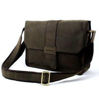 HOT SALE Retro Top Grade Crazy Horse Leather Men's Messenger Bag 100% Genuine Leather Shoulder Bags iPAD Bags Laptop Bags