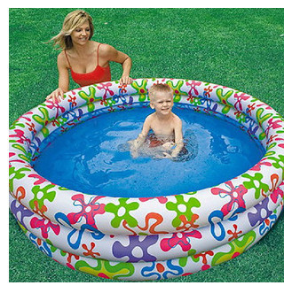intex inflatable swimming pool 168cm*40cm kids baby swimming pool Storage capacity of500 liters(China (Mainland))