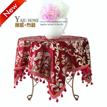 Customize table cloth tablecloth luxury fashion dining table cloth round table cloth round tablecloth fabric table cloth