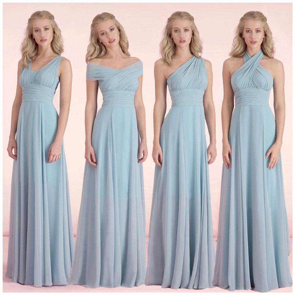 Modern Bridesmaid Dresses Different Colours Ideas - All Wedding ...