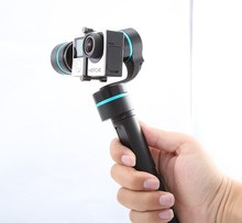 FeiYu Tech G4 3 axis Brushless Handheld Gimbal for GoPro Hero 4 3 3+ FEIYU FY-G4 Ultra Steady Gimbal Free Shipping