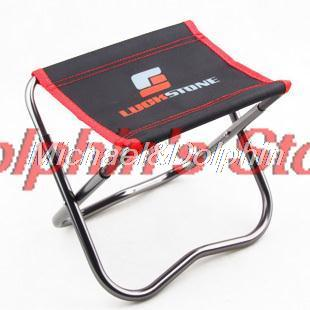 Free shipping! Outdoor portable folding fishing chair foldable fishing stool with bag small size(China (Mainland))