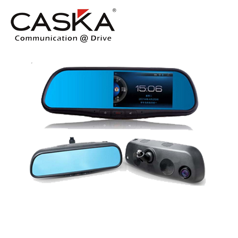 CASKA X mirror All in One System 720P HD 5'' LCD GPS+DVR+ Rearview Mirror Camera+HDMI+Bluetooth Video Recorder+Night Vision(China (Mainland))