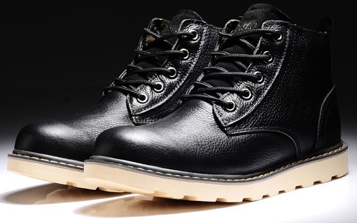 2013 New Fashion Trend Men's Boots Crazy Horse Leather Outdoor Tooling - Happy life shopping store