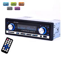 Car Radio usb Bluetooth V2.0 Autoradio JSD 20158 Car Stereo Audio In-dash FM Receiver Aux Input ReceiverUSB MP3 MMC WMAautoradio(China (Mainland))