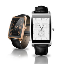 Multi Function Smart Watch Stainless Steel Waterproof Smartwatch Anti-lost Sleep Monitoring Sync SMS for iOS Android Phone