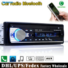 DHL/Fedex JSD-520 12V Bluetooth Car Stereo FM Radio MP3 Audio Player 5V Charger USB/SD/AUX/APE/FLAC Subwoofer In-Dash 1 DIN(China (Mainland))