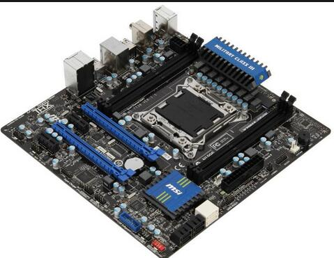 X79MA-GD45 DDR3 Micro ATX Motherboard Well Tested Working(China (Mainland))