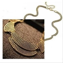 Buy 2017 New Hot Sell Jewelry Bohemia Women Necklaces & Pendants Antient Gold Color Link Chain Short Chokers Statement Necklace for $1.92 in AliExpress store