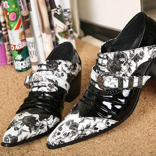 Здесь можно купить  Top Selling New Fashion Floral Printing Men Shoes Cool Pointed Toe Men Dress Shoes Sapatos Masculinos Comfort Platform Shoes Men Top Selling New Fashion Floral Printing Men Shoes Cool Pointed Toe Men Dress Shoes Sapatos Masculinos Comfort Platform Shoes Men Обувь