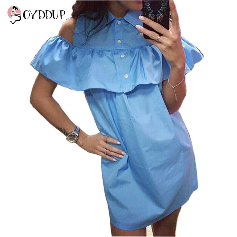 Летнее платье из рубашки