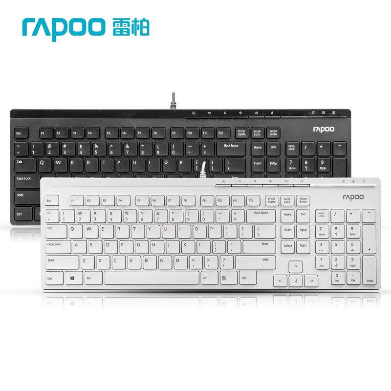 Rapoo N7000 Ultra Thin Slim USB Wireless Keyboards Brand Quality For Desktop Laptop Supplies<br><br>Aliexpress