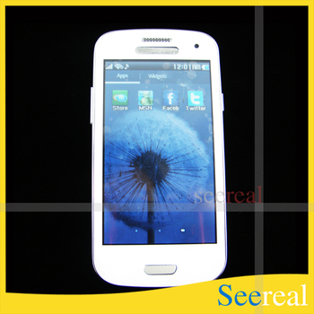 Cell Phone 4inch Touch Screen Quad Band Dual SIM Card Camera Phone 9300 WIfi TV  DHL Free Shipping